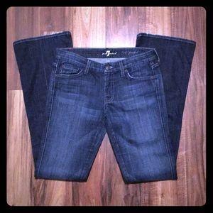 """A"" Pocket Seven Jeans"
